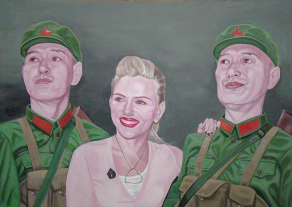 No.c-2009-213 x 152 cm-Acrylic on canvas