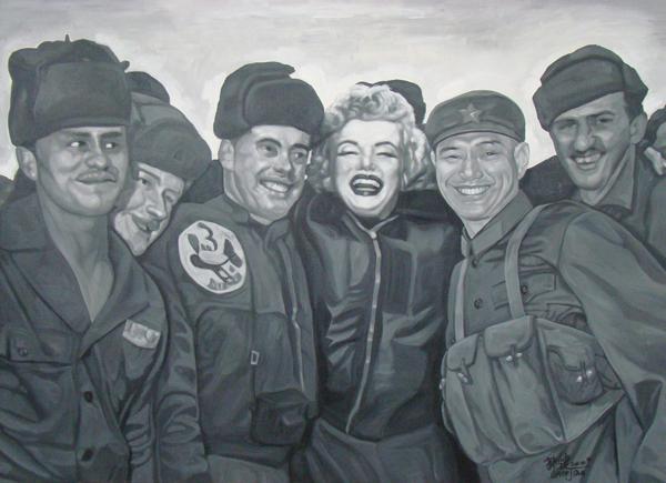 No.d-2009-213 x 152 cm-Acrylic on canvas