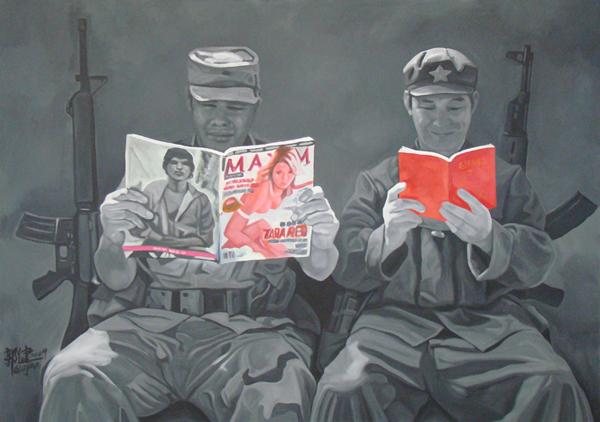 No.g-2009-213 x 152 cm-Acrylic on canvas