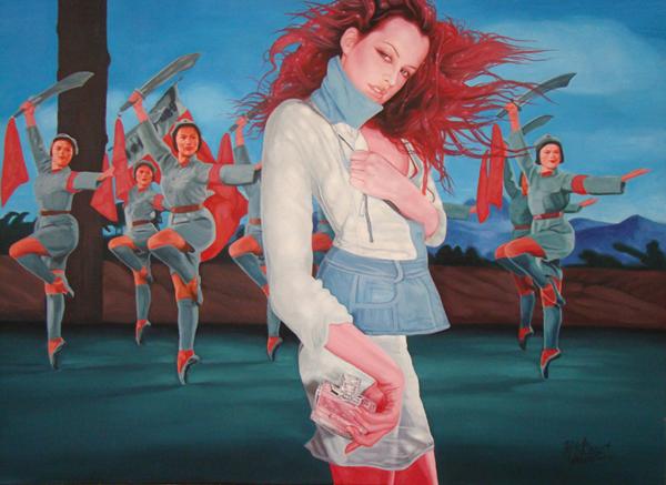 Untitled no.3-2009-213 x 152 cm-Acrylic on canvas
