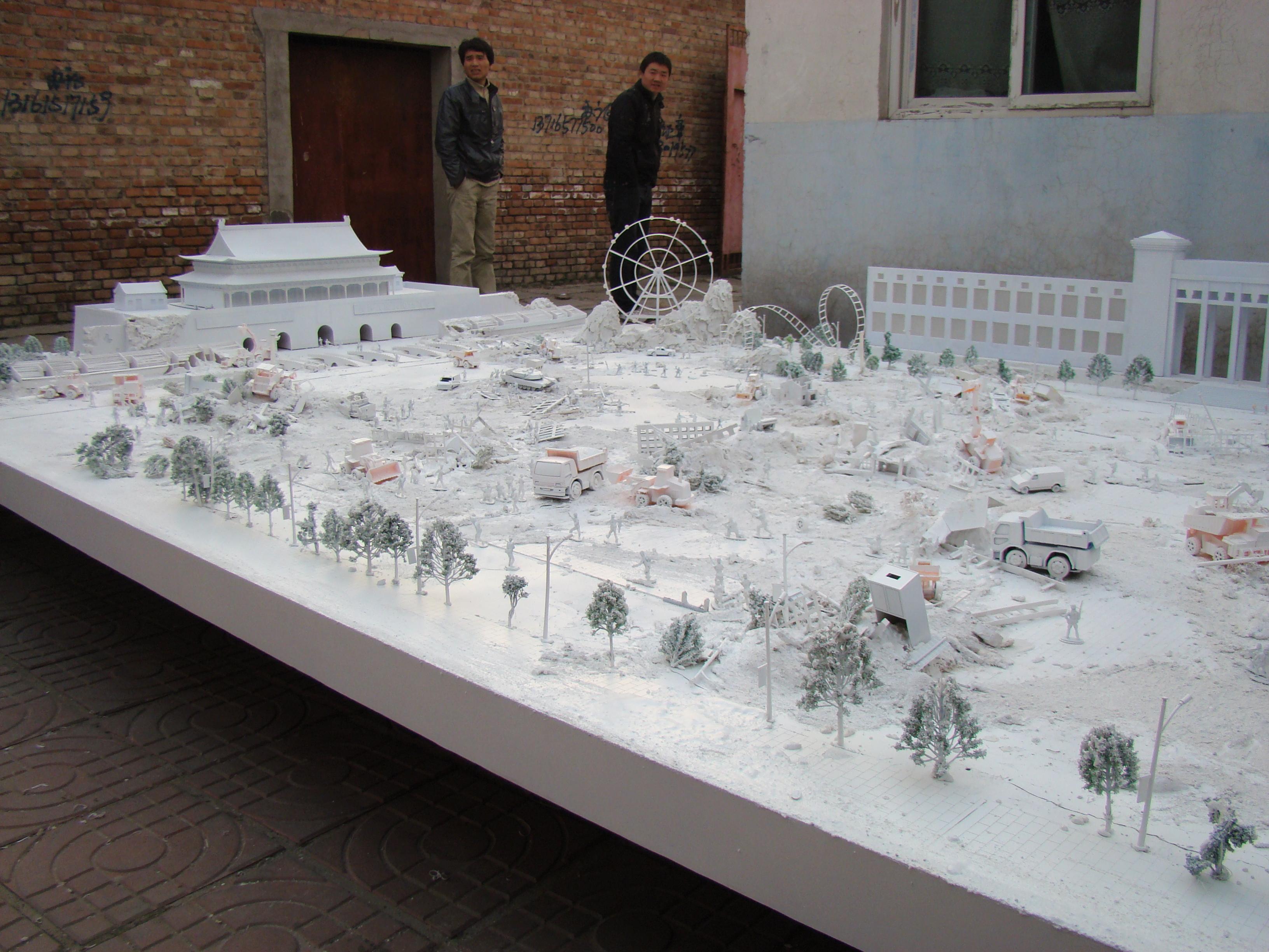 Diorama of Tiananmen
