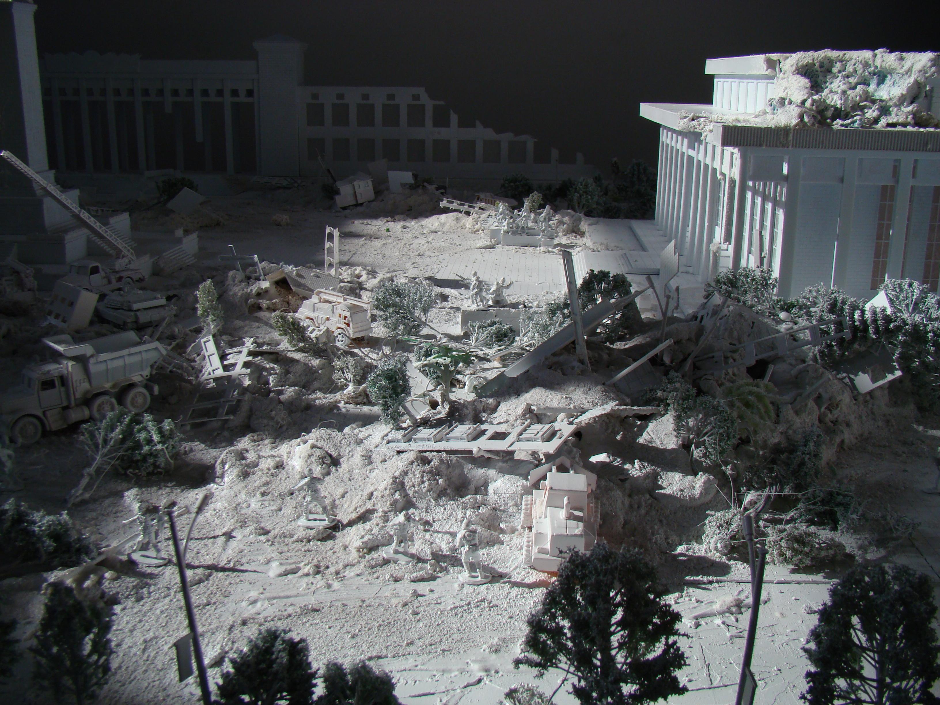 Diorama of Tiananmen2