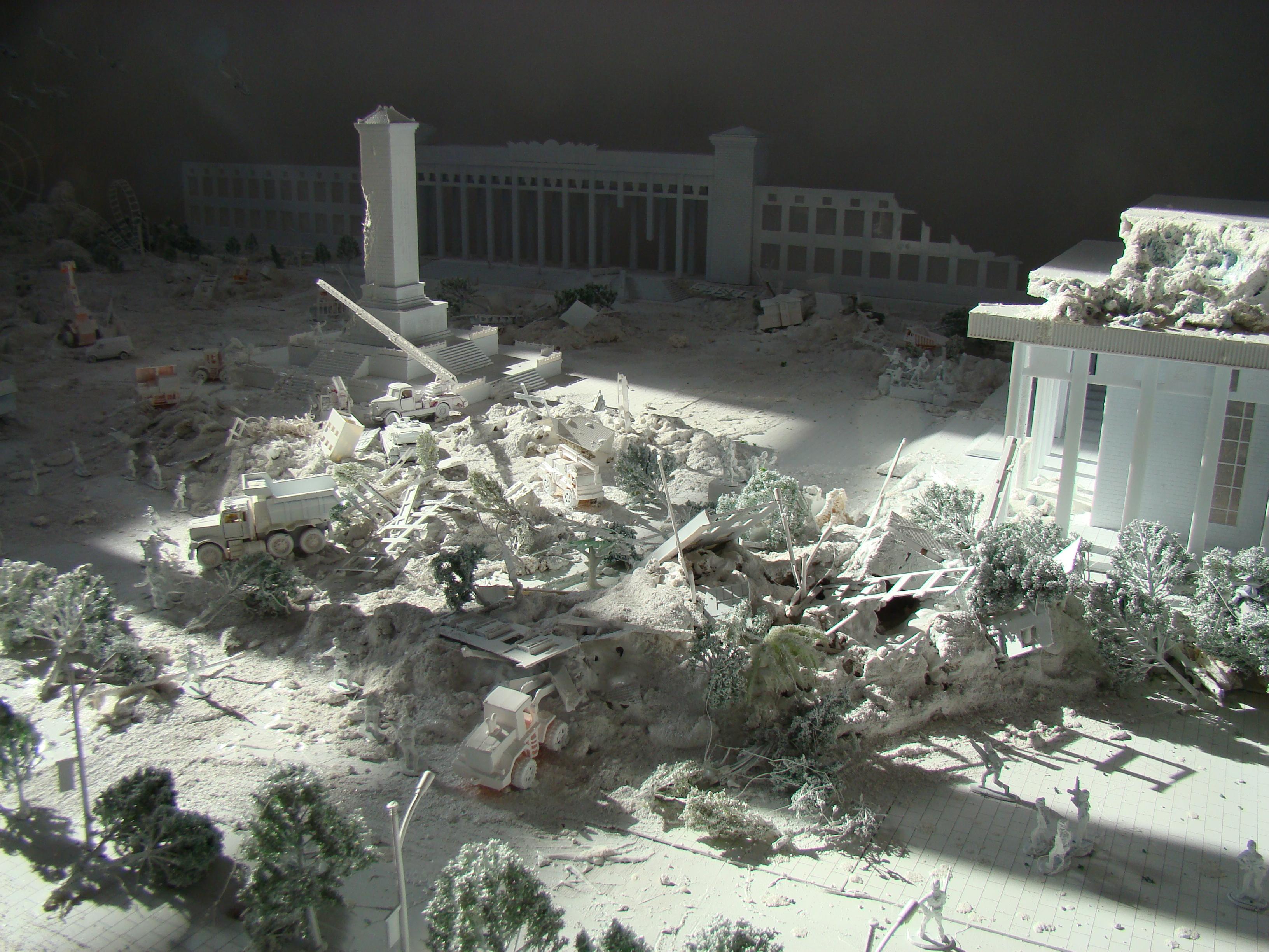 Diorama of Tiananmen3